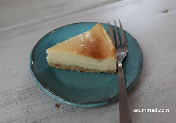 パンもチーズケーキも自家製です