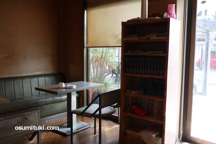 昔ながらの喫茶店「もも木」