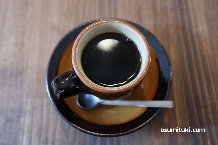 コーヒーは西陣の「ガロ」によるオリジナルブレンド