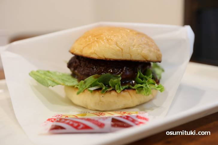 ハンバーガー 580円
