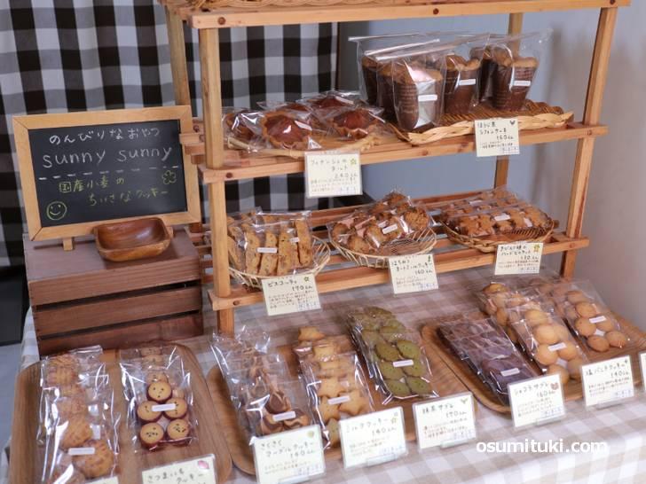 月3日営業のクッキー屋「のんびりおやつ sunny sunny」