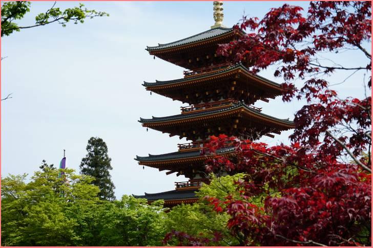 成相寺 五重塔