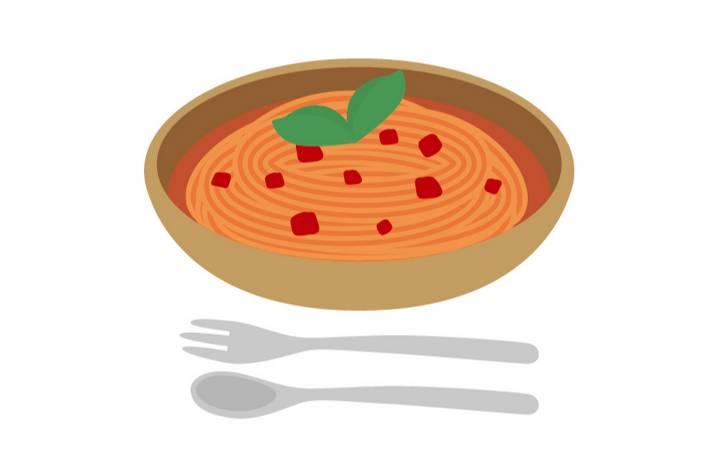ラーメンかパスタか不明な料理が『ナニコレ珍百景』で紹介
