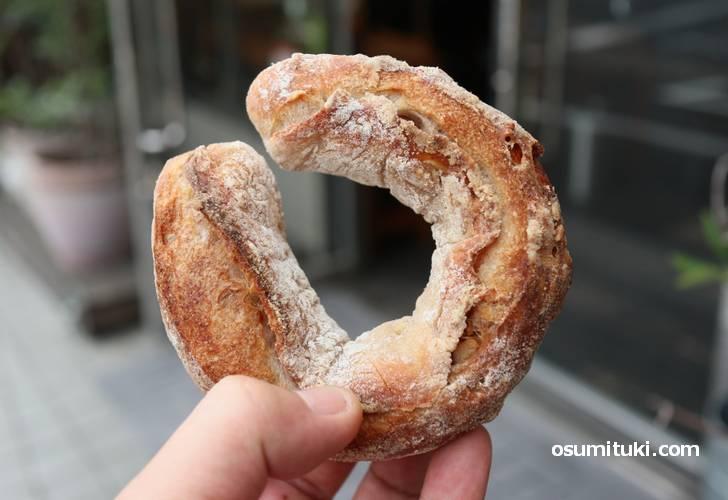 くるみパン革命のパン「クルクルセイバリー」