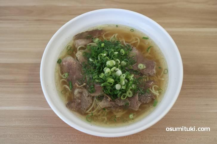 老上海の牛肉ラーメン