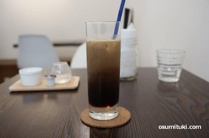 アイスコーヒーのセットにしました