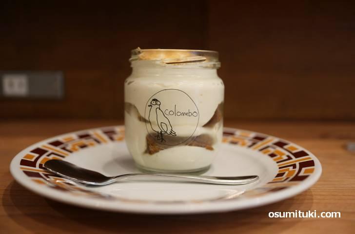 アマレット風味のティラミス(540円)