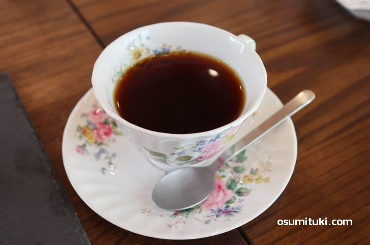ご主人のコーヒーも美味しい!