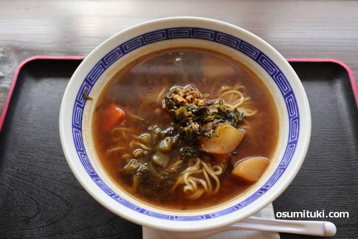 本場・台湾の味わい「薬膳スープ麺」