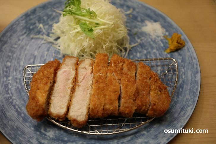 脂身が甘いのが「京都ぽーく」の特徴
