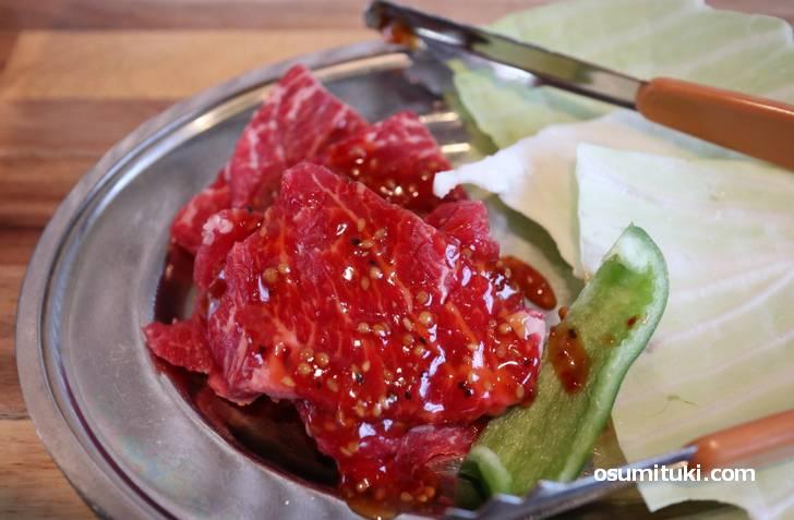 柔らかいお肉で素晴らしいです