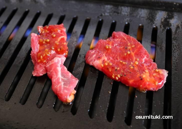 焼きすぎても柔らかい牛肉で美味しい!