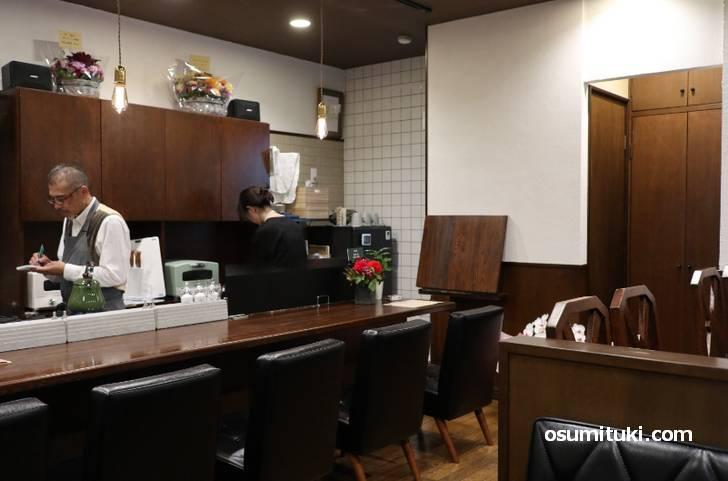 珈ノ介コーヒ、気さくなオーナーさんで楽しいお店です