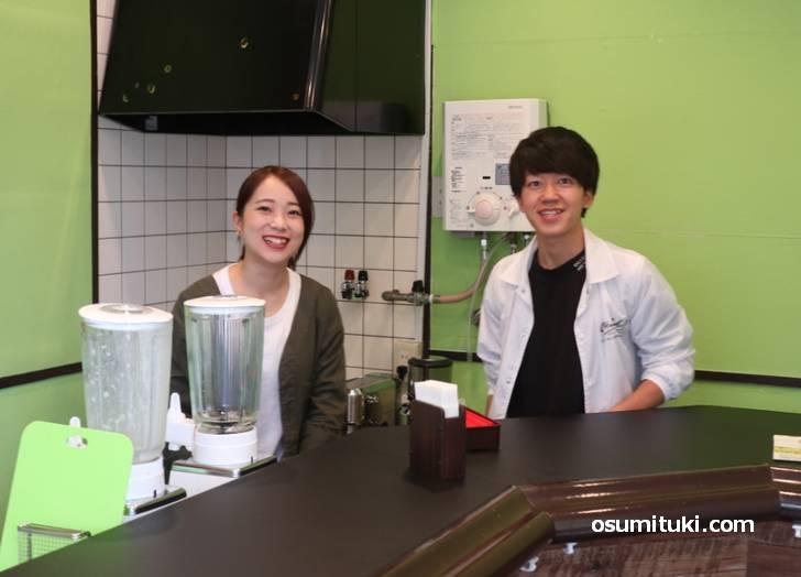 京都の学生が立ち上げたバナナジュース専門店