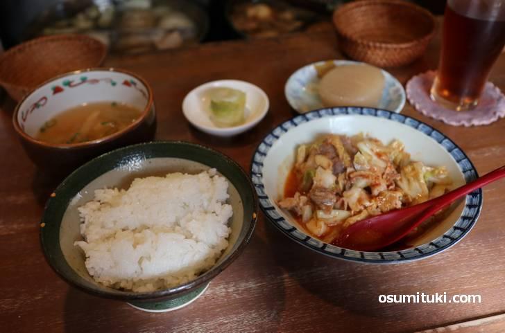 京都・等持院で食べた「600円おでん付きランチ」