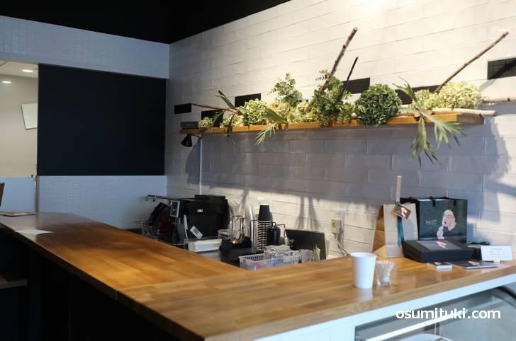 店内では近日中にブルックリン直輸入のコーヒーを飲むことも?
