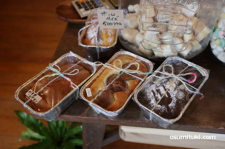 ケーキは500円