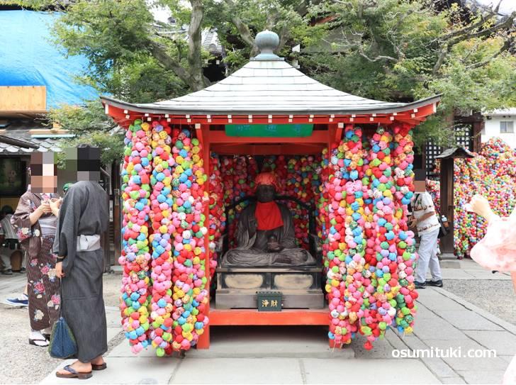 金剛寺(八坂庚申堂)の「くくり猿」