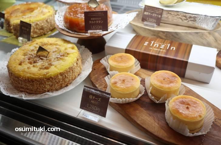 チーズケーキやタルトタタンも美味しいです
