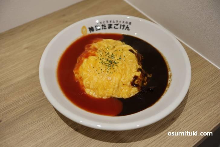 トマト&ハヤシ(820円)