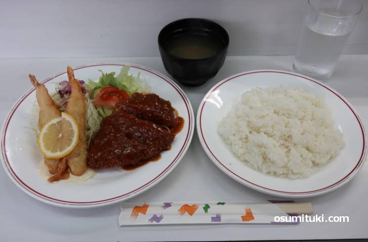 洋食のトム「日替わり定食」600円