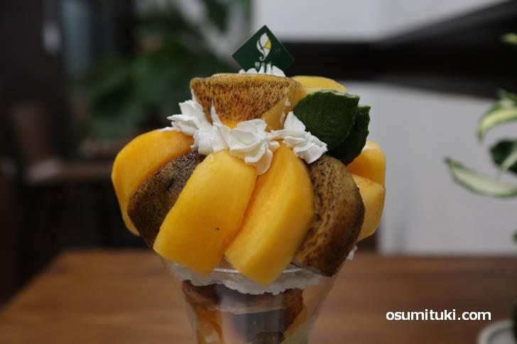 フルーツはとても甘く食べごろ!