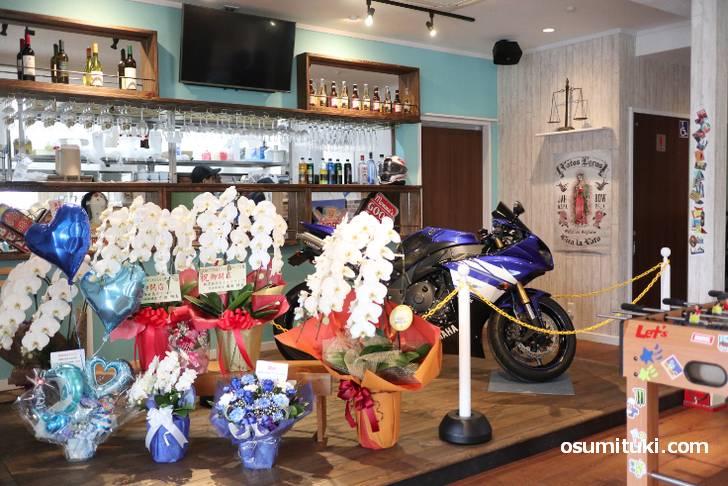 2019年11月2日オープン Cafe☆blue (京都府宇治市)