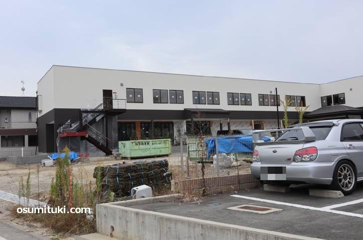 創作カフェ蒼さんは2019年11月3日時点でまだ工事中です