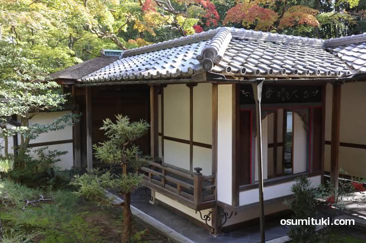 高桐院といえば書院や茶室が見どころです