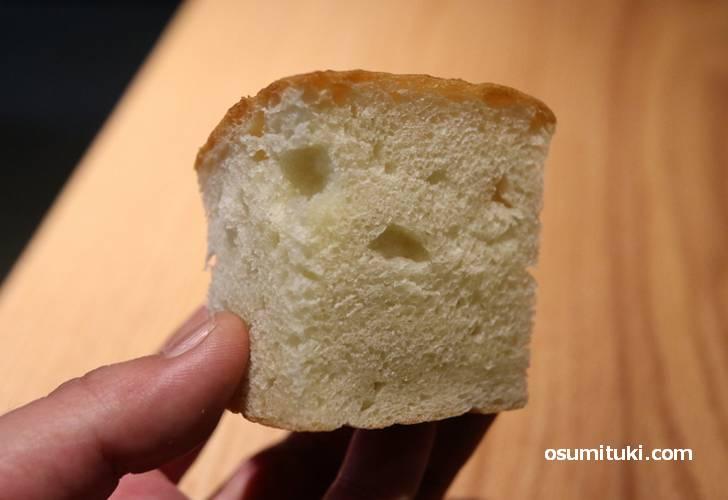 自家製パンもセットにはいっていました