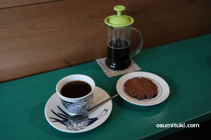 コーヒーはフレンチプレスです