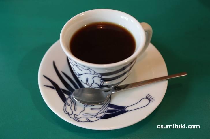 豆は嵯峨野のカフェタイムの焙煎豆