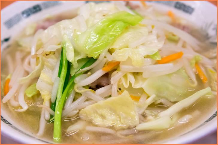 関西では珍しいタンメン(湯麺)が『マツコの知らない世界』で紹介