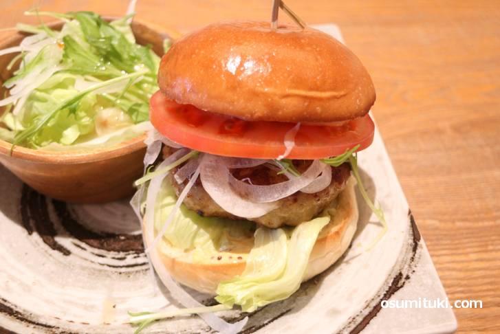 かなり美味しいハンバーガーです