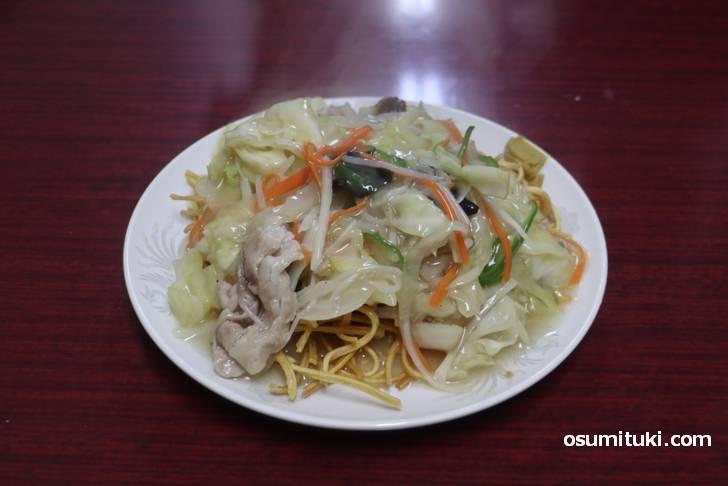 本格中国料理の名店「中国料理 瑞秦 (ずいしん)」の揚げそば