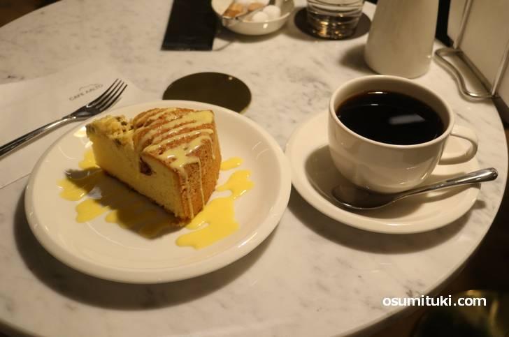 フィンランドのケーキとコーヒー