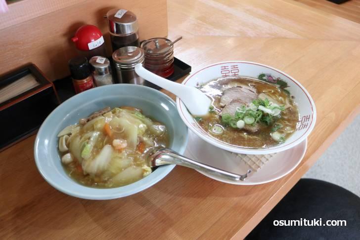 京都・西院にコスパの良い中華料理が新店オープン