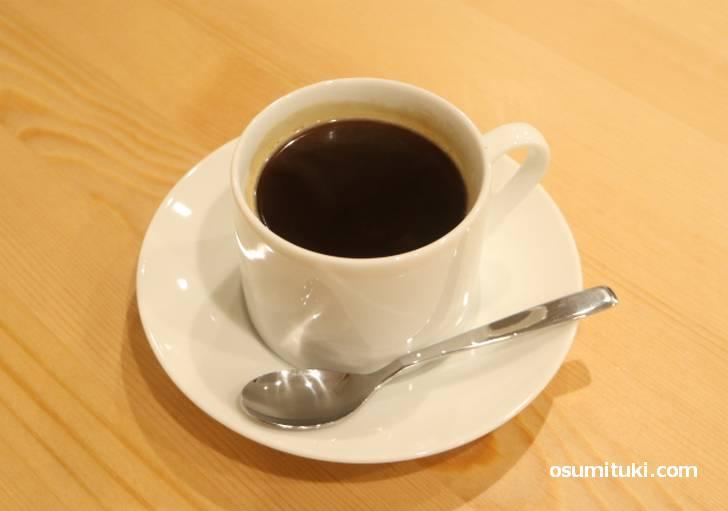 フレンチプレスっぽい仕上がりのコーヒー