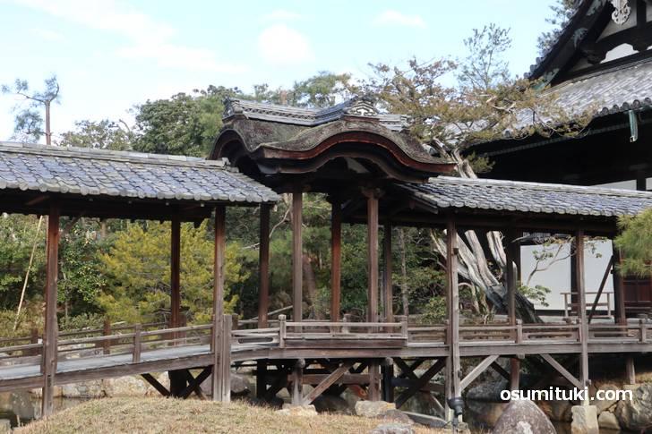 伏見城の遺構「観月台(かんげつだい)」
