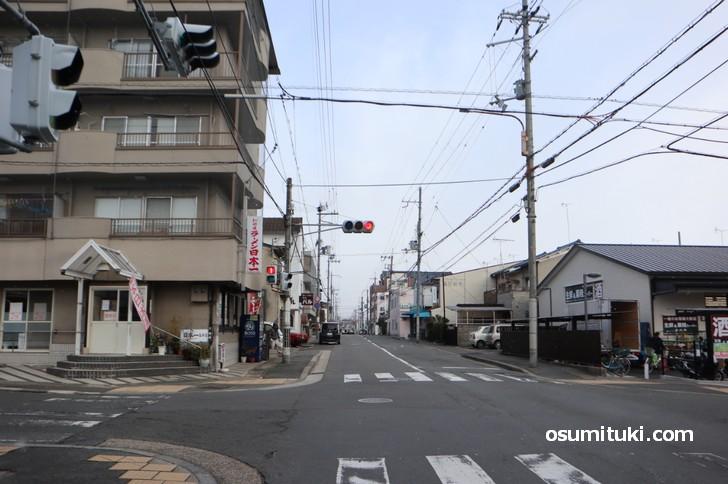 玄琢下のラーメン日本一のところはあまり降ってませんが