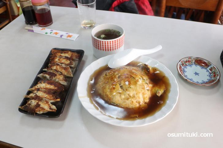 京都最強の天津飯がキター!