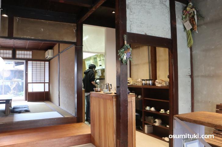 IWASHI COFFEE(イワシコーヒー)は京町家をリノベーションしています