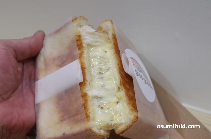 チーズがかなり伸びます