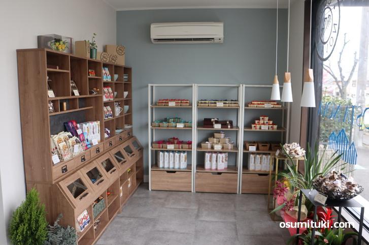 ベルギーから輸入したチョコレートや洋菓子を販売