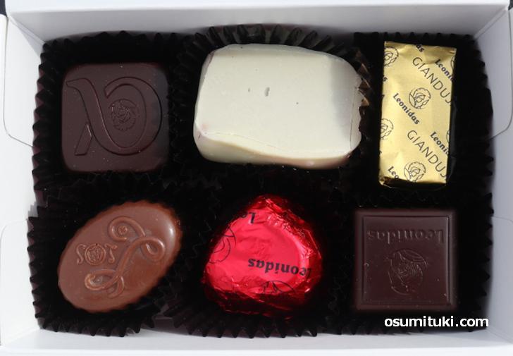 甘さのある西洋チョコレート