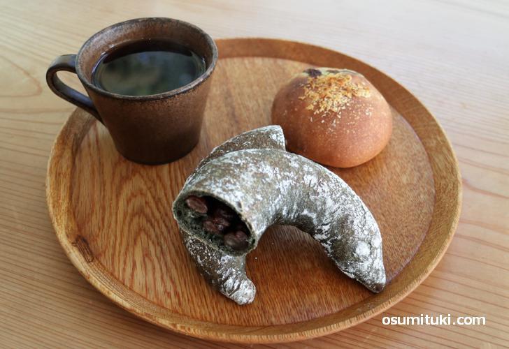 家の近くに欲しい感じのパン+カフェさんでした