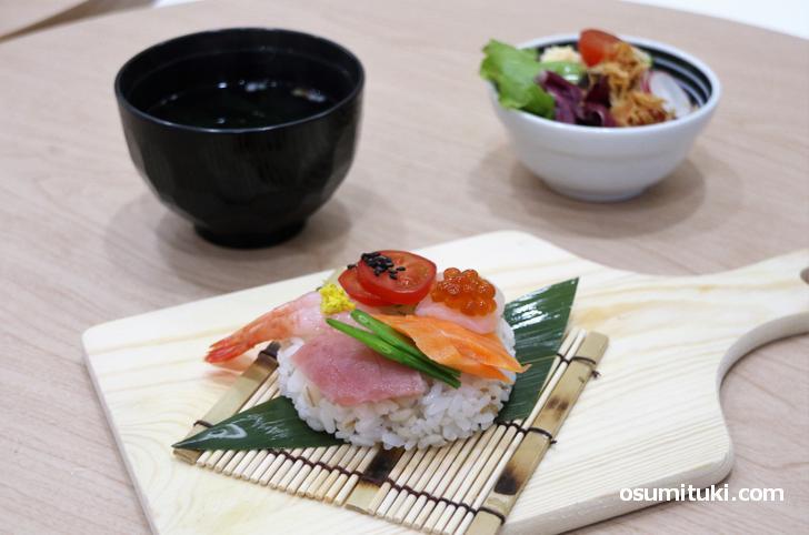面白くて新しいお寿司、それがドーナツ寿司でした