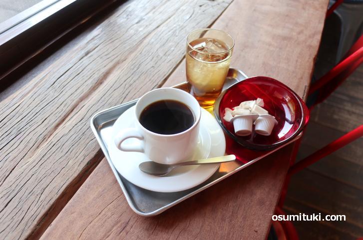 メキシコベースのブレンドコーヒー(450円)