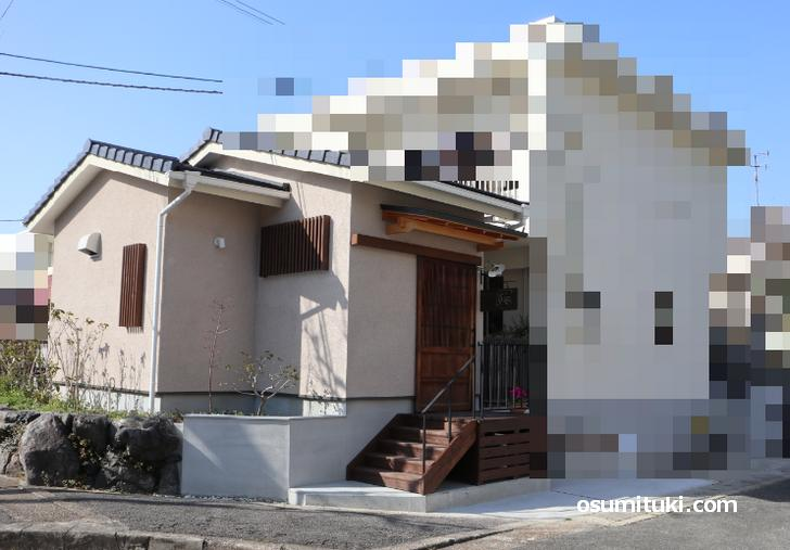 旧奈良街道から醍醐寺を通り過ぎて「ひまわり歯科」を東へ