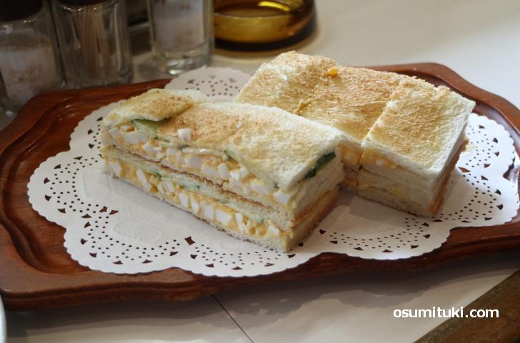 玉子サンド(800円)